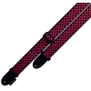 LPCP-590 2 POLYESTER BLACK RED CHECKERS