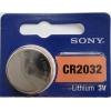 CR2032 LITHIUM COIN BATTERY 3V 220 mAh