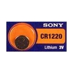 CR1220 LITHIUM COIN BATTERY 3V 40 mAh