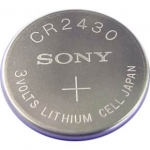 CR2430 LITHIUM COIN BATTERY 3V 300 mAh