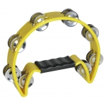TN-2 TAMBOURINE PLASTIC YELLOW